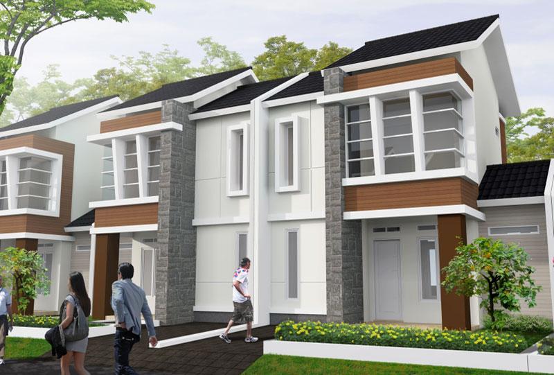 Rumah Type 75B, Citra Serang Residence
