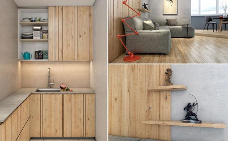 Penggunaan Panel kayu Pada Interior rumah