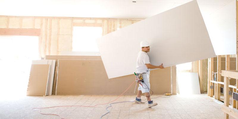 Hasil gambar untuk cara membuat sekat dinding triplek