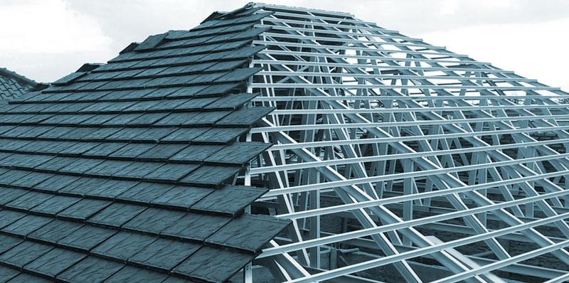 Penutup Atap dan Rangka Atap Baja Ringan