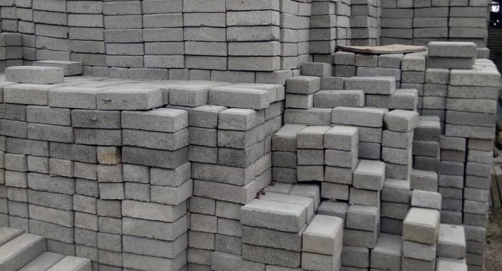 pembuatan paving block