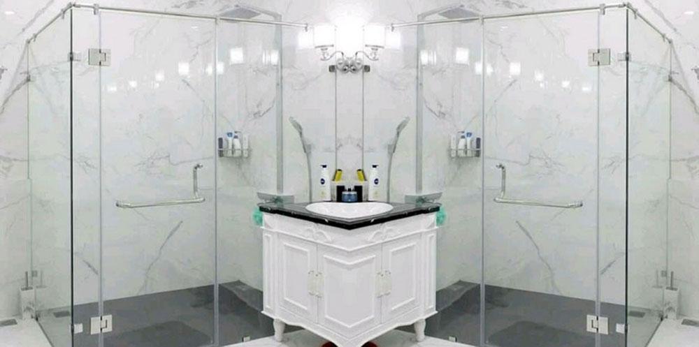 Shower Box Transparan